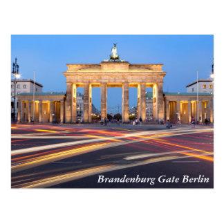 Brandenburg Gate in Berlin Postcard