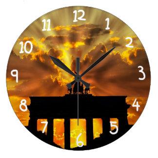Brandenburg Gate Large Clock