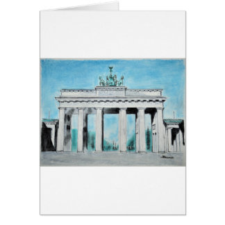 Brandenburg Gate Sketch Card