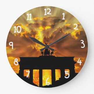 Brandenburg Gate Wallclocks