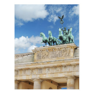 Brandenburg Tor in Berlin, Germany Postcard