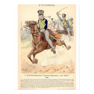 Brandenburger Hussar Postcard