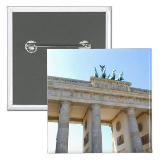 Brandenburger Tor, Berlin 2 Inch Square Button