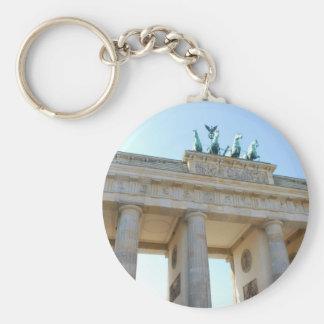 Brandenburger Tor, Berlin Basic Round Button Keychain