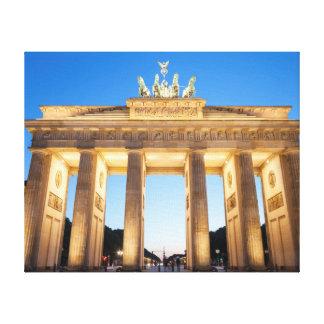 Brandenburger Tor Berlin Canvas Print