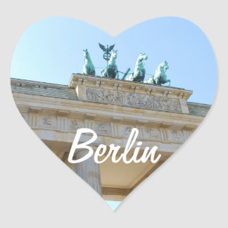 Brandenburger Tor, Berlin Heart Sticker