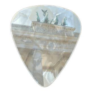 Brandenburger Tor, Berlin Pearl Celluloid Guitar Pick