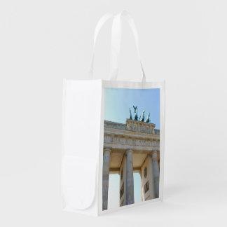 Brandenburger Tor, Berlin Reusable Grocery Bag