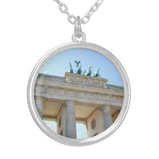 Brandenburger Tor, Berlin Silver Plated Necklace