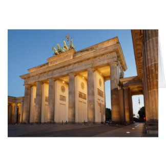 Brandenburger Tor in Berlin Card