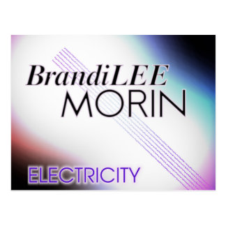 Brandi Lee Electricity Postcard