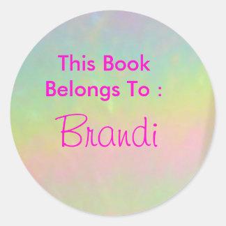 Brandi Round Sticker