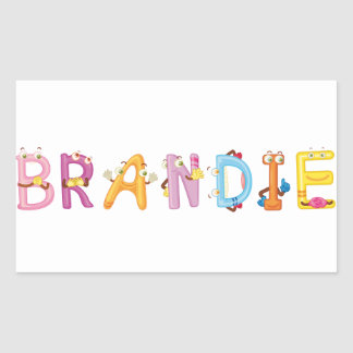 Brandie Sticker
