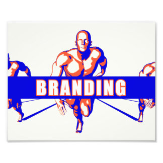 Branding as a Competition Concept Photo