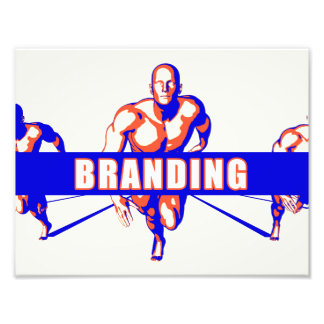 Branding as a Competition Concept Photo Art