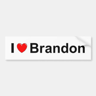 Brandon Bumper Sticker
