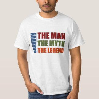 Brandon the man, the myth, the legend T-Shirt