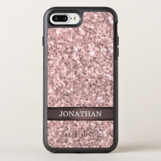 Brandy Rose Glitter OtterBox Symmetry iPhone 8 Plus/7 Plus Case
