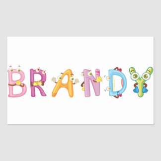 Brandy Sticker