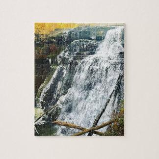 Brandywine Falls Cuyahogo National Park Ohio Jigsaw Puzzle