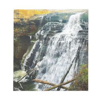 Brandywine Falls Cuyahogo National Park Ohio Notepad