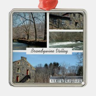 Brandywine Valley Metal Ornament