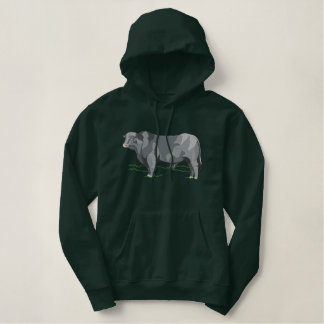Brangus Bull Embroidered Hoodie