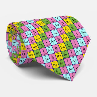 Braniac periodic table name tie