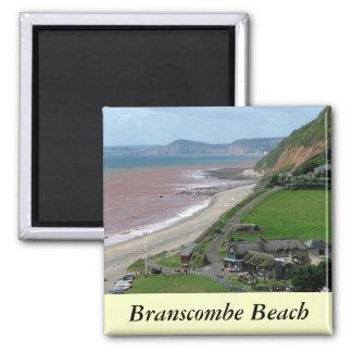 Branscombe Beach Magnet