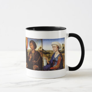 Braque Family Triptych Mug