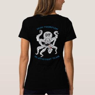 Brasa DT Fight team-Blue- Women T V-neck T-Shirt
