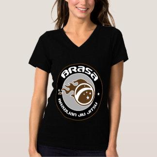 Brasa DT Fight team-Brown- Women T V-neck T-Shirt