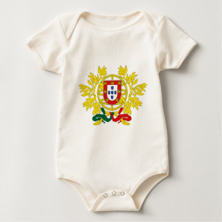 Brasão de Armas (Coat of Arms) de Portugal Baby Bodysuit