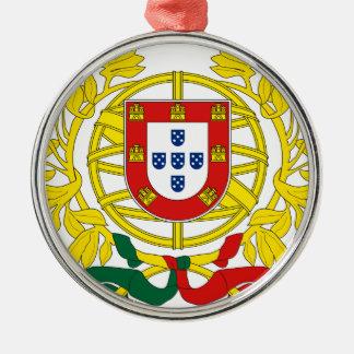 Brasão de Armas (Coat of Arms) de Portugal Metal Ornament