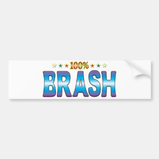 Brash Star Tag v2 Bumper Sticker