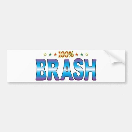 Brash Star Tag v2 Bumper Sticker