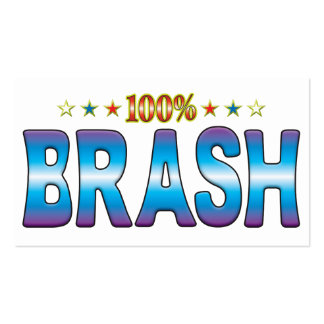 Brash Star Tag v2 Business Card Templates