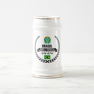 Brasil Beer Stein