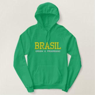 BRASIL ( BRAZIL ) Embroidered Hoodie
