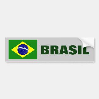 BRASIL - BRAZIL FLAG BUMPER STICKER