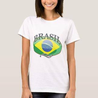 Brasil Button T-Shirt