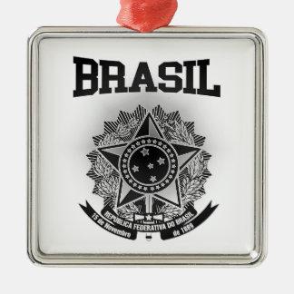 Brasil Coat of Arms Metal Ornament