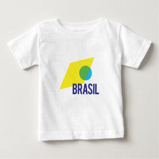 Brasil Flag Baby T-Shirt