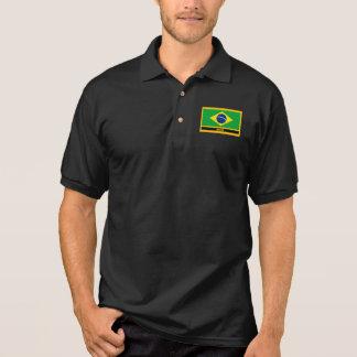 Brasil Flag Polo Shirt