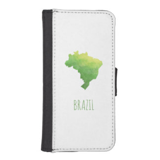 Brasil iPhone SE/5/5s Wallet Case