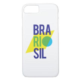 Brasil Rio Flag iPhone 8/7 Case