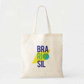 Brasil Rio Flag Tote Bag