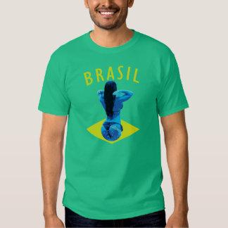 Brasil Soccer Style Bikini T Shirts