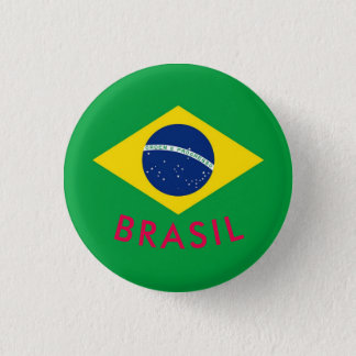 brasil swipes in 1 inch round button