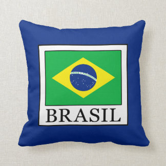 Brasil Throw Pillow